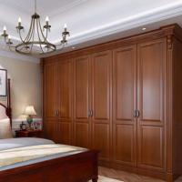 玛格定制整体衣柜美式衣帽间定做组合柜卧室家具实木开门衣柜定制