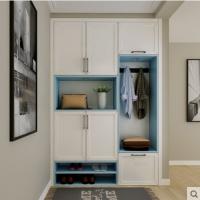 玛格全屋定制鞋柜现代简约门厅柜入户玄关门口多功能储物柜