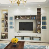 玛格定制家具 简约美式电视柜餐边柜鞋柜定制客餐厅组合柜定做