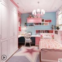 玛格榻榻米定制卧室走入式整体衣柜儿童房全屋空间书柜书桌定制