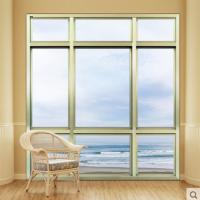 皇派门窗新巴黎时尚落地铝合金非断桥铝管型平开窗隔音封阳台窗户