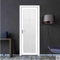 新标家居定制钢化玻璃铝合金平开门铝镁卧室厨房厕所洗手卫生间门