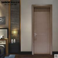 新标家居环保静音平开门木门油漆实木门室内门房间门卧室门烤漆门