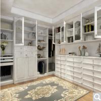 博郡卧室家具定制 欧式整体衣柜实木大衣橱白色衣帽间全屋定制