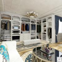 成都博郡衣柜定制 北欧现代走入式卧室衣柜定做多功能三门大衣橱订做衣帽间