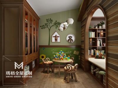 《盖茨比》系列产品-儿童房 经典实木M05