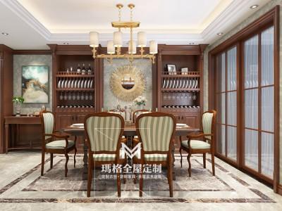 《盖茨比》系列产品-客餐厅 经典实木M05