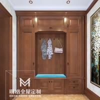 《盖茨比》系列产品-玄关 经典实木M05