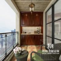 《盖茨比》系列产品-阳台 经典实木M05