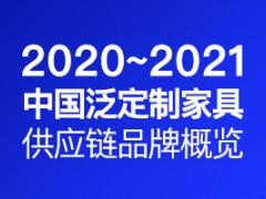 2020-2021中国泛定制家具供应链品牌概览